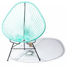 Turquoise Chair Now For Sale The Original Acapulco Chair In Turquoise Colour