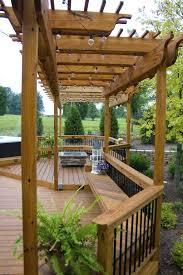 Backyard Pergola Design Ideas Pergola Design Marvelous Patios And Pergolas Decks With A