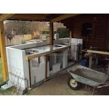 outdoor küche outdoorküche gemauert mit einbau gasgrill und monolith baubericht