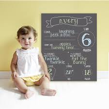 Pearhead Photo Album Pearhead All About Baby 4 Piece Chalkboard Pearhead Babies