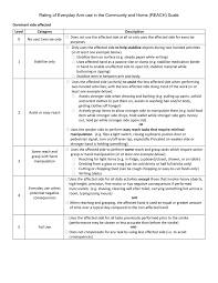 copy a cv for free reach scale checklist neurorehabilitation research program
