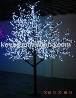 sell white led cherry tree light for outdoor decoration by
