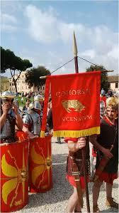 Flag Of Roma Celebrating Rome U0027s Birthday U2013 Lucius U0027 U20ac Romans
