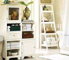 Decorating Bathroom Shelves Decorating Bathroom Shelves Bathroom Decor Ideas Use Ladder