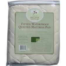 abc organic waterproof mattress pad mini crib walmart com