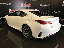 lexus sports car 2 door pre owned 2017 lexus rc 350 demo unit f sport series 2 2 door
