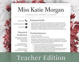 New Teacher Resume Sample by Best 25 Teacher Resume Template Ideas On Pinterest Resume
