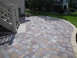 Concrete Patio Pavers by Pond Designs With Waterfalls Concrete Patio With Pavers Concrete