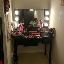 Vanity Makeup Desk With Mirror Vanity Inspiration When We Move In The House For College I Have