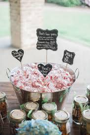 salt water taffy wedding favor chalkboard wedding gifts favors