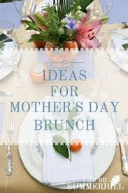 Ideas For A Cocktail Party - ideas for a mother u0027s day brunch at life on summerhill blog