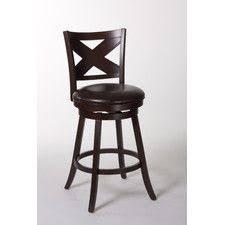 powell big tall solid back wood bar stool bar stools at