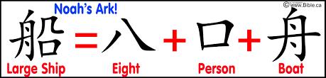 chinese language evidences of noah u0027s ark and genesis 1 11