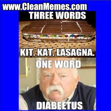 Kat Meme - kit kat lasagna clean memes