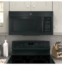 ge 1 6 cu ft over the range microwave oven with recirculating
