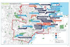 Map Toledo Ohio by Toledo Means Business City Of Toledo