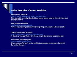 Online Resume Portfolio by Presented By April Legler Lecturer Of Career Education Ksob