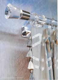 Decorative Traverse And Stationary Drapery by Brimar Drapery Hardware