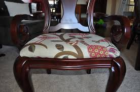 How To Upholster Dining Room Chairs by E3 Creations Diy How To Reupholster A Dining Room Chair Part 3