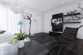 home wall design interior black white interiors