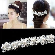 bridal hair accesories bridal white hair accessories ebay
