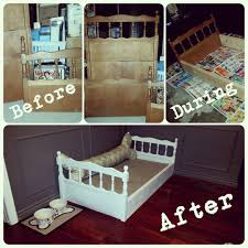 Crib Mattress Sale Great Bed For A Large Breed Made Out Of An Drop Side Crib