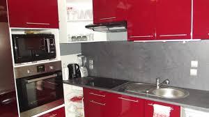 chambre gris et rouge nouvelle cuisine rouge et grise photo 1 5 3522194