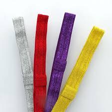 headband elastic sparkle fold elastic headband