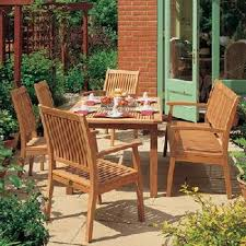 Patio Table Wood Exterior Cozy Wooden And Metal Material For Lowes Patio Chairs