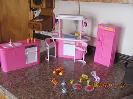 Little Tikes My Size Barbie Dollhouse by 1995 Barbie Little Extras Kitchen Pack Lot Accessory New Pots Pans