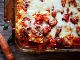 Ingredients For Lasagna With Cottage Cheese by Protein Rich Zucchini Noodle Lasagna With Cottage Cheese The