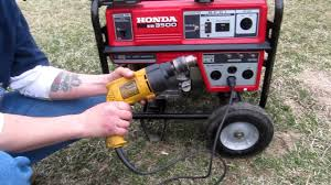 honda eb3500 generator youtube