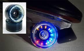 light up roller skate wheels firefly light up wheels