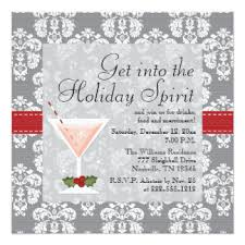 Cocktail Party Invite - christmas cocktail party invitations u0026 announcements zazzle