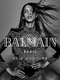balmain hair balmain hair couture winter 2016 caign photos balmain hair