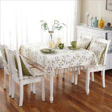 table covers for party pastoral green leaves printed tablecloth thick 135x180cm dust