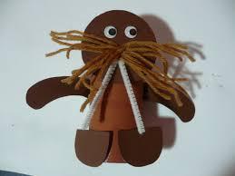 cardboard tube walrus fun family crafts