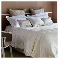 ideas u0026 styles cream frette linens with bench and area rug for