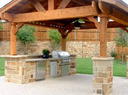 Backyard Bbq Design Ideas by Fascinating Outdoor Kitchen Barbeque Design Ideas With Grey Stone