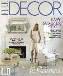 a look at sandra lee u0027s westchester home in elle decor july august