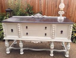Solid Wood Buffet Table Vintagevintage Ornate Buffet Shabby Chic Buffet 1930 U0027s Buffet
