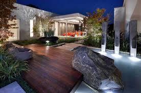 Modern Landscaping Ideas For Backyard by Beautiful Zen Homes House Design Beautiful Modern Landscape