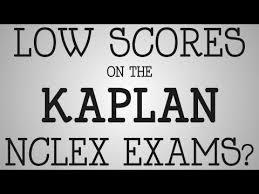 kaplan nursing pinterest nclex rn exam low scores on the kaplan nclex exams youtube