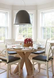 round kitchen tables with bay windows dining room farmhouse and