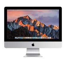 ordinateur de bureau apple pas cher apple imac mmqa2fn a 21 5 pouces i5 bicoeur 8go de ram