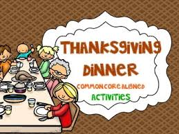 thanksgiving feast math activity page 2 divascuisine