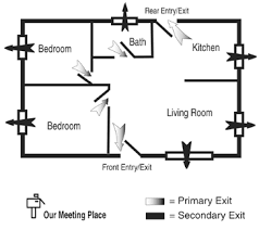 home fire safety plan fire escape plans south snohomish county fire rescue