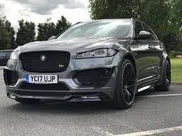 jaguar f pace grey used 2017 jaguar f pace 3 0 td v6 s awd 5dr start stop for