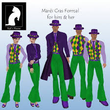 mardi gras costumes men second marketplace km mardi gras formal his hers