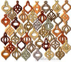 scroll saw patterns holidays 3d ornaments